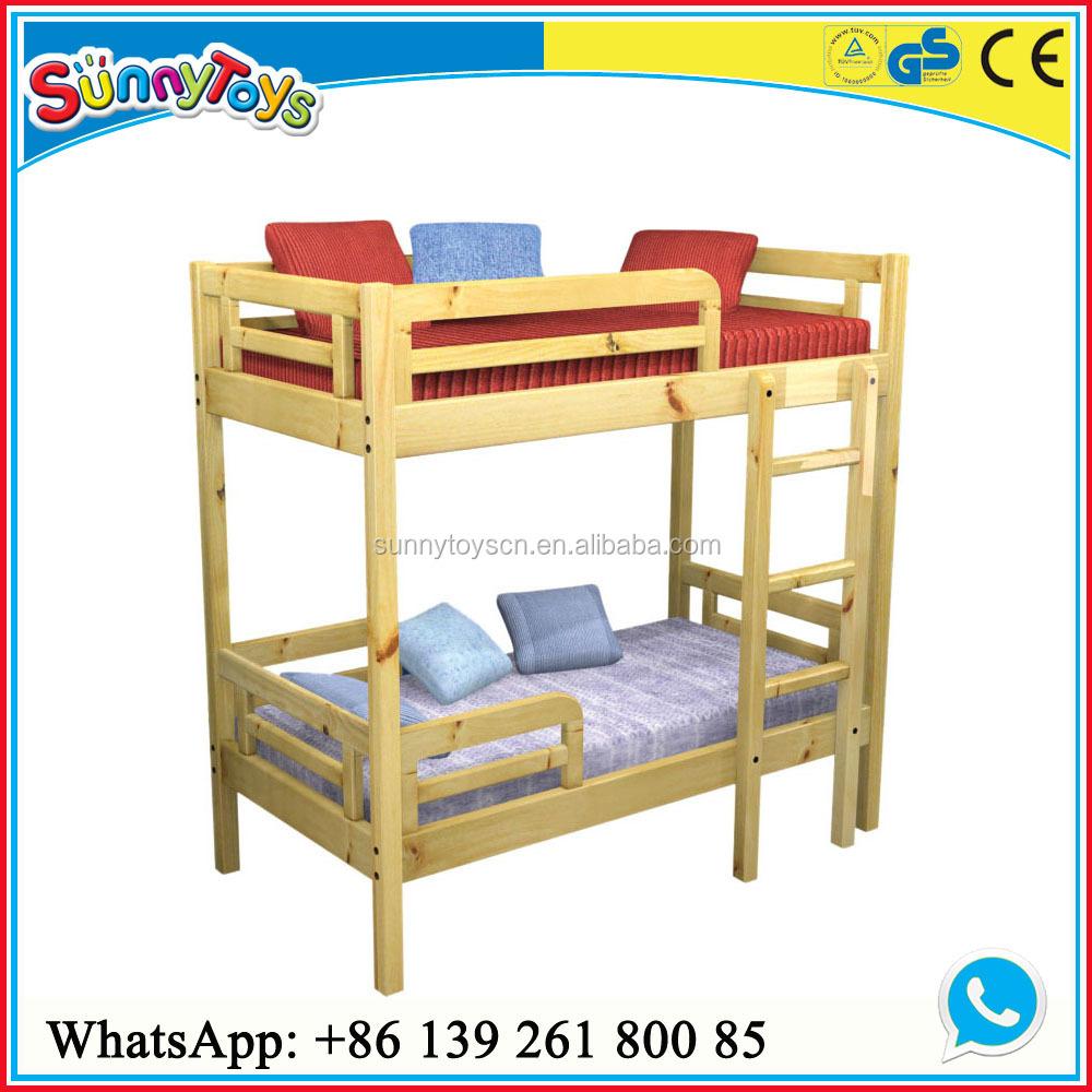 Double Deck Beds For Kids wooden kids double desk bed children furniture kids double deck