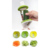 Spiralizer Vegetable Slicer 3 In 1 Multifunction Gradter Stainless Steel Spiral Slicer Food Vegetable Cutters Graters