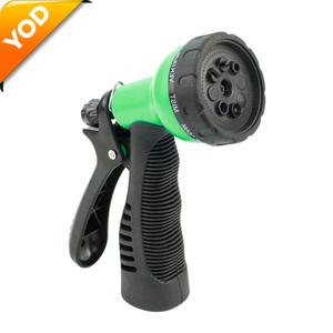 Plastic garden hose water spray nozzle for farm irrigation house cleaning