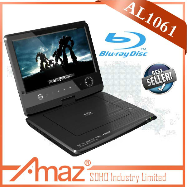 Newest designed full function portable blu ray player
