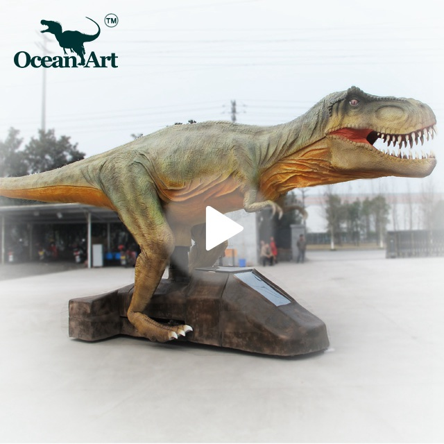 OA 41124 animatronic walking dinosaur for stage show