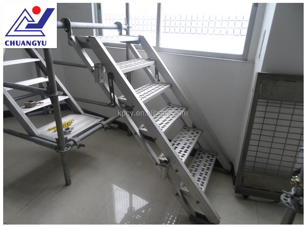 Aluminum Scaffold Stairs : Japanese type aluminium scaffolding stair ladder buy
