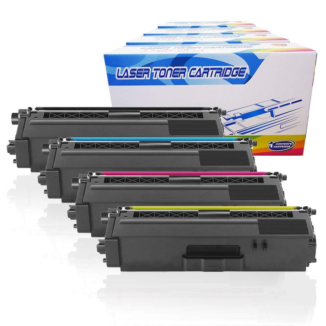 4 Pack Brother TN331 Toner Cartridge for MFC-L8600CDW MFC-L8850CDW Printers