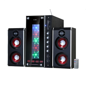 Factory Direct 2.1 Home Theatre speaker System Portable Speaker Surround Sound With Sound Recording System