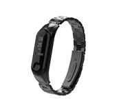 Amazon hot sale factory price 430210 series black color silicone miband4 soft watch strap for mi bands
