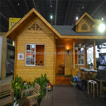 Wood Prefab House Log Home Factory Direct Sales