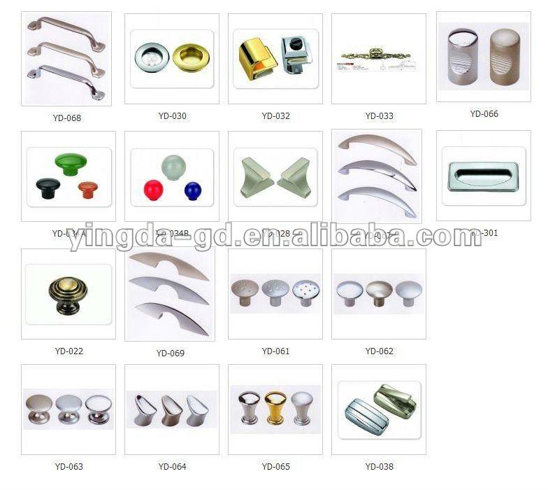 Different Types Zinc Alloy/plastic Round Wooden Door Knobs From ...
