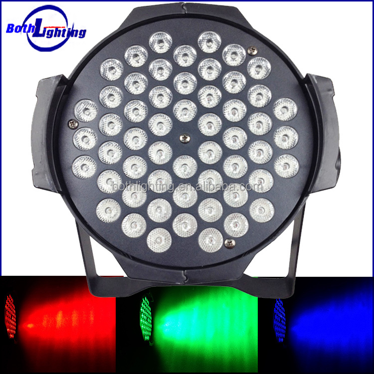 2016 Hot sale 54X3W RGB LED par 64 led 54 3w par light DMX stage disco dj lights wholesale
