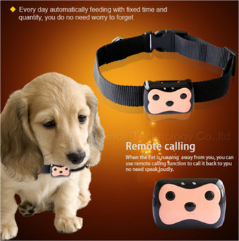 Mini Pet GPS Tracker Waterproof Smart GPS Tracker With Collar For Pets Cat  Dog GPS+ fa9127c792658
