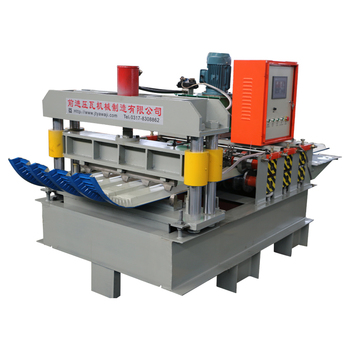 Automatic cold steel profile corrugated sheet curving machine for roofing sheet