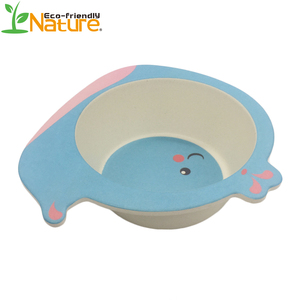High Quality Custom Printed Novelty Healthy Bamboo Fiber Children Bowl