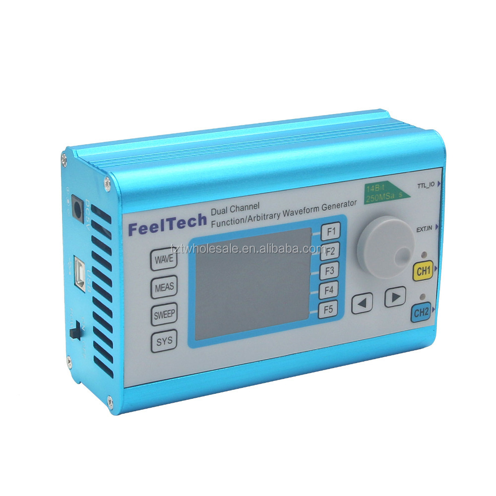 FY2300H Function Arbitrary Waveform Generator 60MHz Dual Channel 250MSa/s 100MHz Frequency Signal Meter DDS
