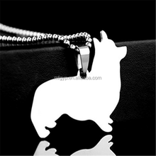 Stainless Steel Pendant Necklace Pet Tags - Great gift for dog-lovers and dogs