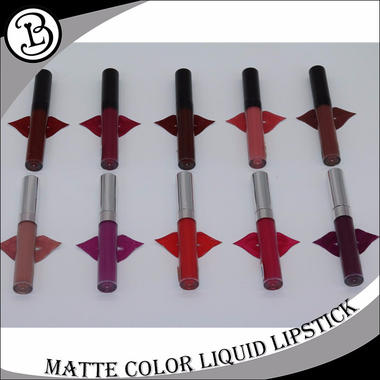 Popular waterproof 12 colors mattemake your own lip gloss