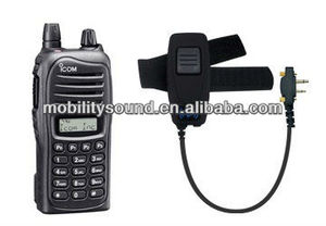 Bluetooth Audio Dongle for ICOM F33G, IC series 2-way radio