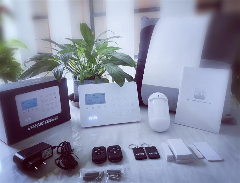 W21 Preço de Fábrica WIFI PSTN Sistema de Alarme Inteligente da Segurança Home Usado Monitores LCD