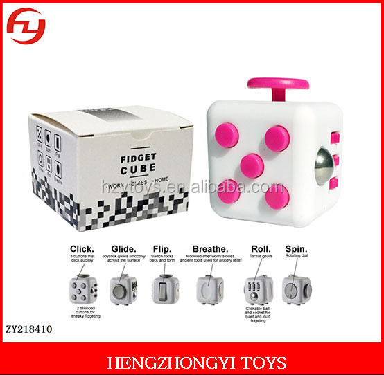 Best seller Six sides Camo fidget cube stress cube anti stress fidget cube toys for adults children