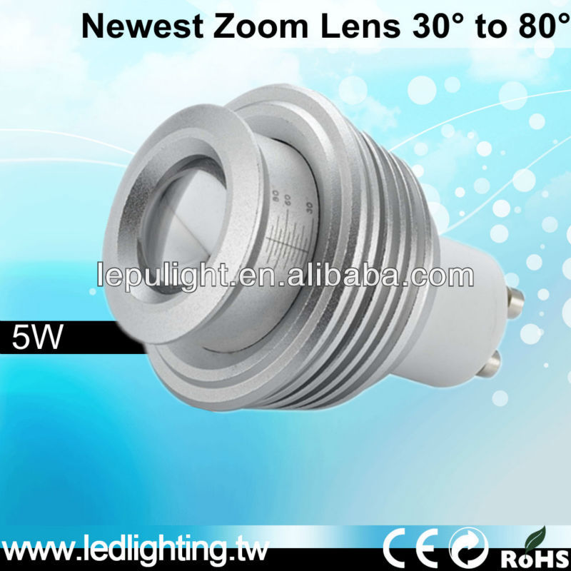 Angel change 30-80deg Sharp cob dimmable led track spot lighting gz zoom lens