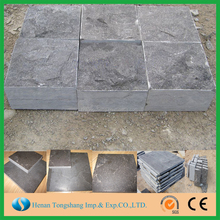 China natural driveway paving stone blue stone size,blue limestone with great price