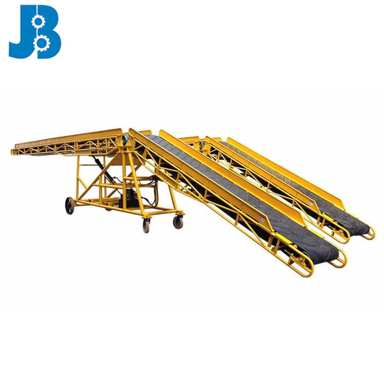Factory custom bulk material conveying equipment/band conveyor machine/conveyor for container loading and unloading