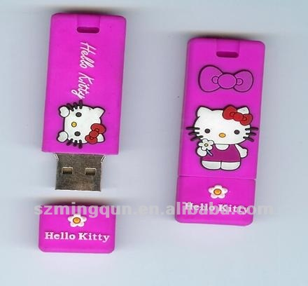 custom PVC usb with 128mb to 64gb memory