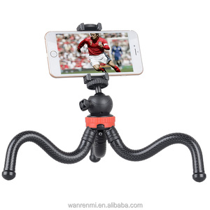 wholesale Flexible Mini Camera Tripod with Universal 1/4-inch Tripod Screw Mount for DSLR and Video Cameras.