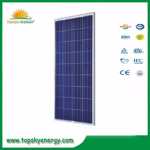 140W-160W 36pcs 18.1V-18.4V 7.73A-8.15A cheap poly grade A best prices per watt of solar panel made in China 145w 150W 155W