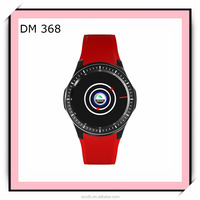 The Newest Hot Selling DM368 watch mobile phone WIFI heart rate meter weather forecast GPS positioning 3G Andriod smart watch