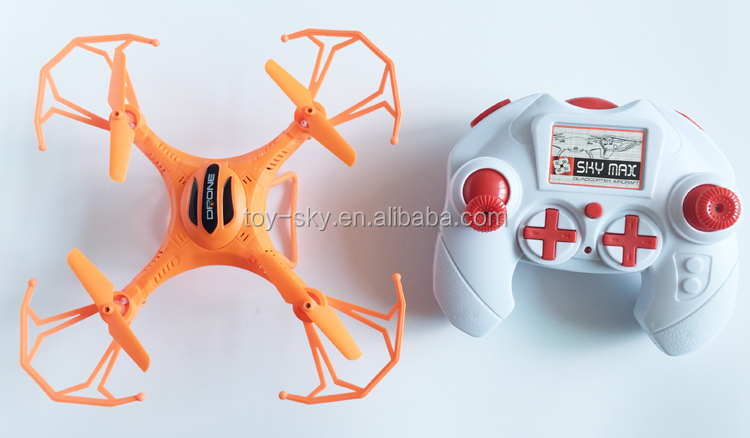 Toysky New Small Drone Toy X13 24G 6Axis China RC Quad Copter With Three Color
