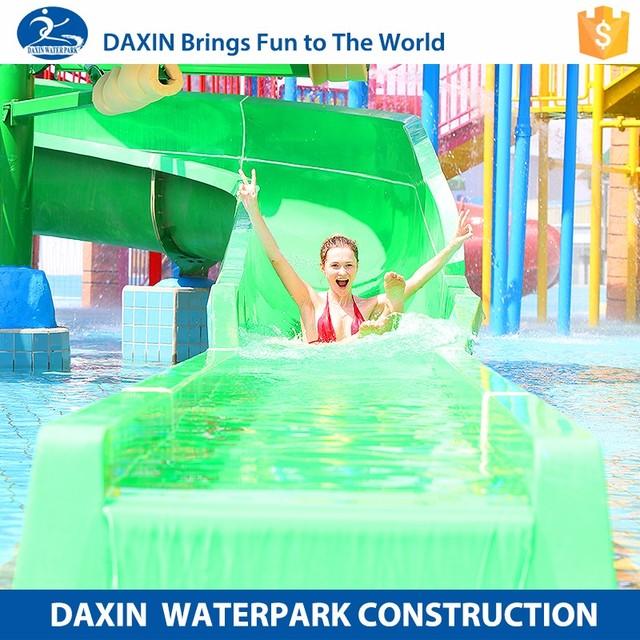Water park boob slip