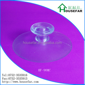2014 World Cup HF-90MC Transparent High Quality Hand Pump Suction Cup Huizhou Housefar Rubber Factory