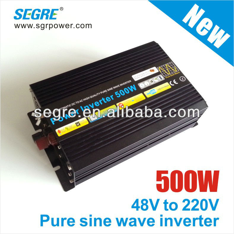 500W dc to ac pure sine inverter for solar panel