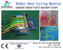 Guangzhou factory new condition automatic TPR TPU SBS NBR rubber band tube cutting machine