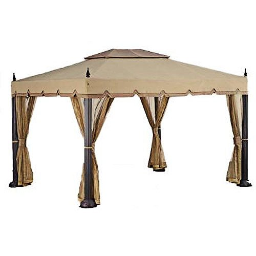 Get Quotations Replacement Canopy For Home Depot S Mediterra Gazebo 10 X12