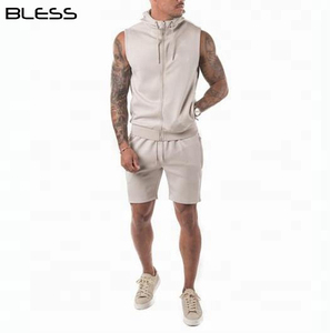 Factory Direct Men Bulk Fitness Sports Clothing Tank Tops Mens Gym Wear Set