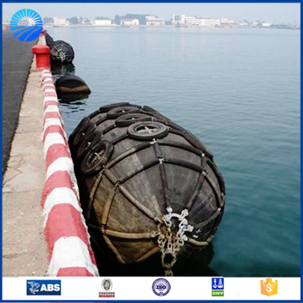 high pressure inflatable natural rubber balloon marine rubber fender for ship and boat