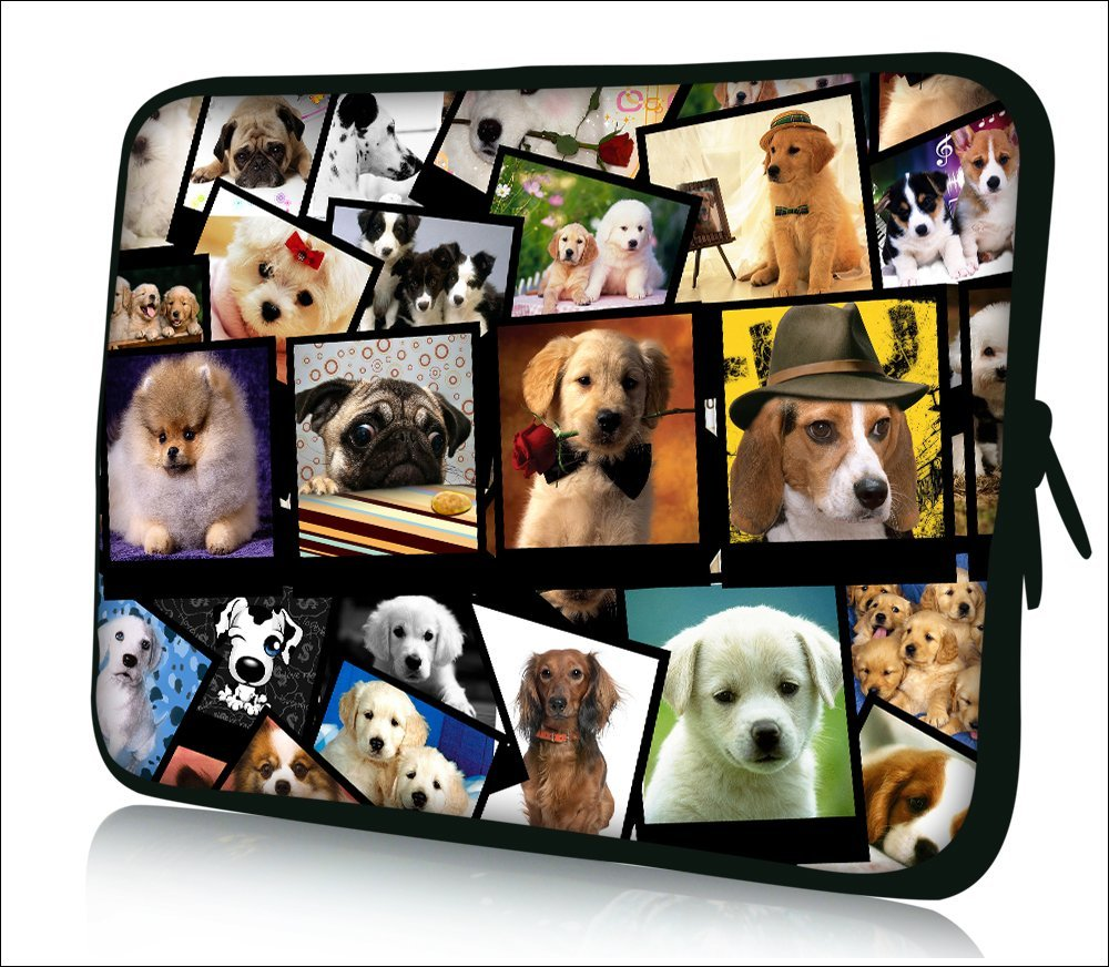 "FBAps13-003 NEW Fashion cute dags 12.5"" 13"" 13.1"" 13.3"" inch Notebook Neoprene Soft zip Laptop Sleeve Case Bag Cover Pouch for Apple Macbook Pro /Air 13"" Retina Display Air 13/ Sony VAIO/Samsung/DELL inspiron Vostro Studio XPS 13/HP Folio Envy 13 Pavilion DV3/TOSHIBA/ASUS UX32 UX31 X35"