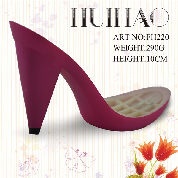 Manufacture ABS high heel shoe sole for lady shoe making