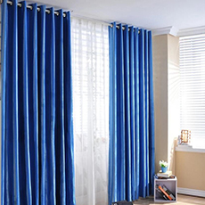 Hotel grey curtains ready made curtains for the living room