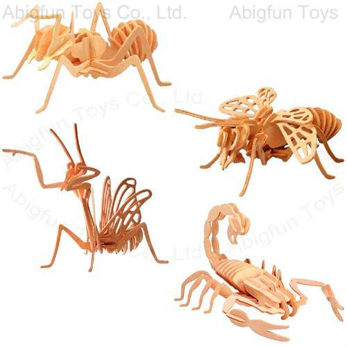 3D Metal Ant Puzzle