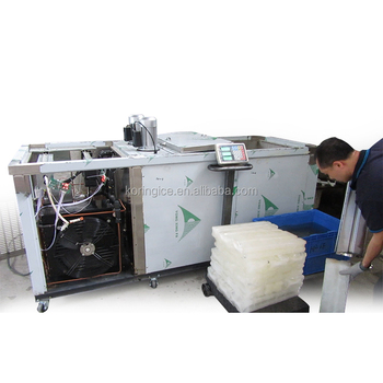 Automatic Cheap Cost Kolice Professional Equipment Manufacturers Block ice machine