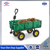Heavy Duty Outdoor Use Garden Mesh Cart Tool Cart With Four Wheels