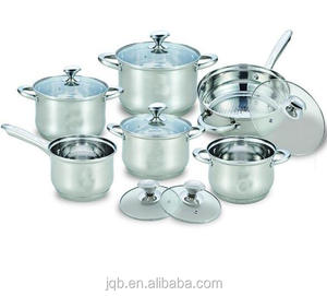 12 Pieces Stainless Steel 201 German Cookware Set