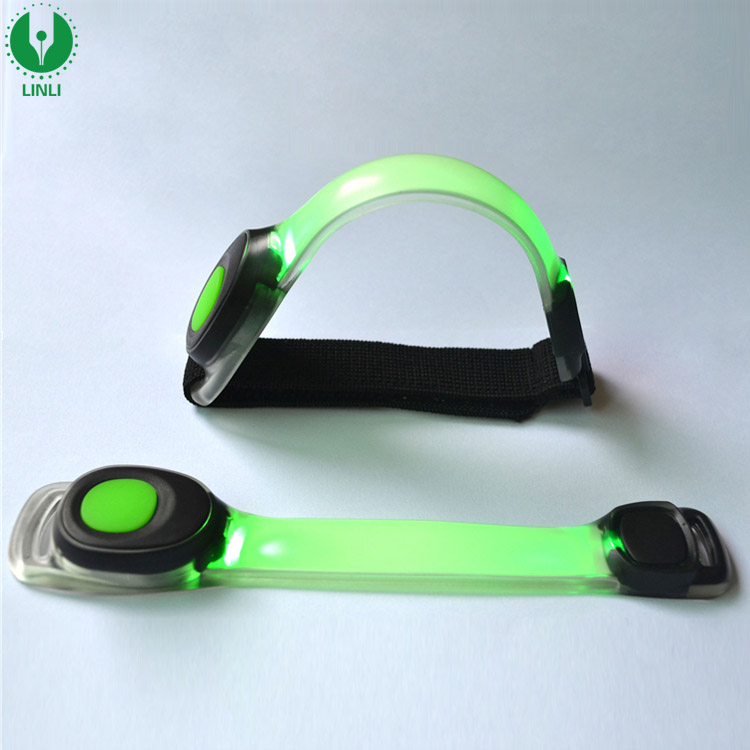 LED Armband Running Armabnd Light Glow In Dark, Safety Running Gear Armband Light Use For All Size
