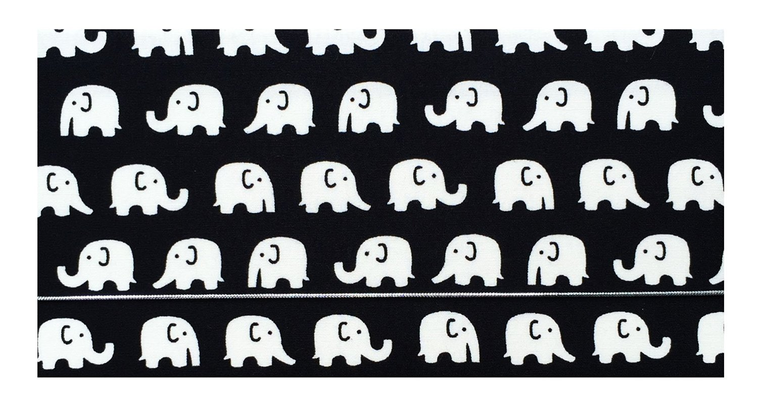 buy elephants cotton planner cover checkbook cover for top tear