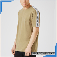 Whole Sell Blank T Shirt No Brand Fashion Hip Hop Garment Clothing