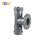 Plastic Pipe Fitting PVC Tee with Flanged Branch PN10