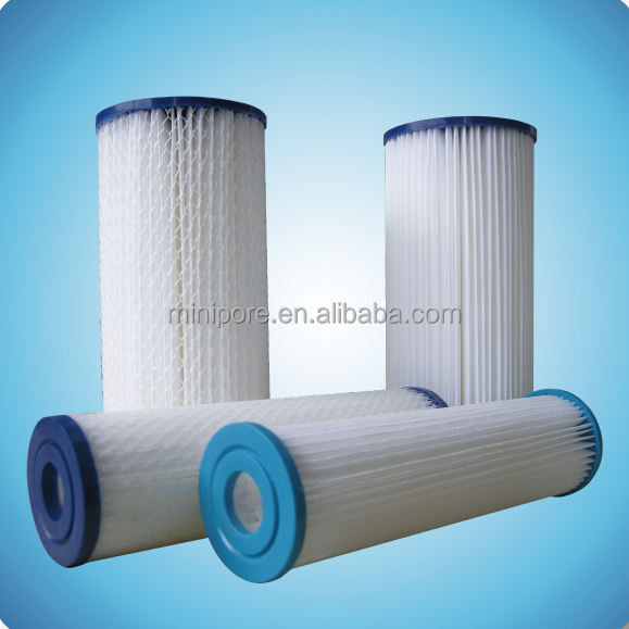 20''Paper pleated Filter Cartridge for water <strong>filtration</strong> with 50micron