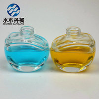beautiful design 50ml lady glass spray perfume bottle refillable perfume bottle hot sale