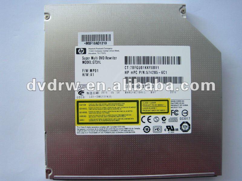 HP DVDRAM GT31L WINDOWS 7 X64 TREIBER
